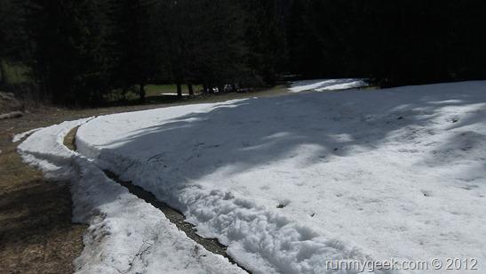 Bloqué par la neige