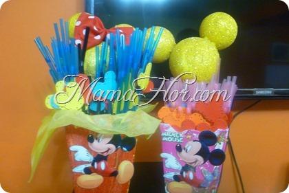 Como decorar los sorbetes de Mickey Mouse