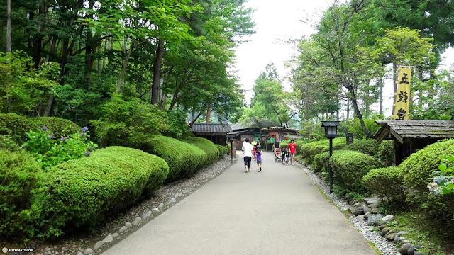 breathtaking pathway towards Edo Wonderland in Nikko, Totigi (Tochigi) , Japan
