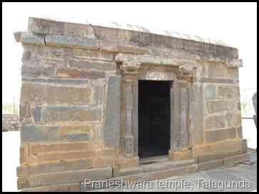 Praneshwara temple, Talagunda