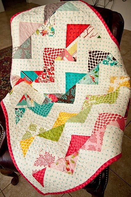 zig zag quilt tutorial
