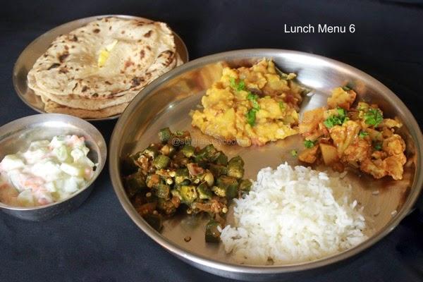 Lunch menu 6