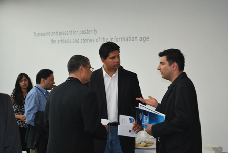 Networking at OPEN FORUM