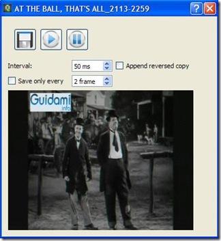 QGifer anteprima della gif animata ricavata dallo spezzone video