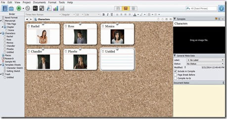 add from corkboard