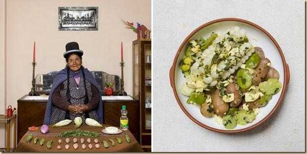 Portraits de grand-mères et leurs plats cuisinés (24)