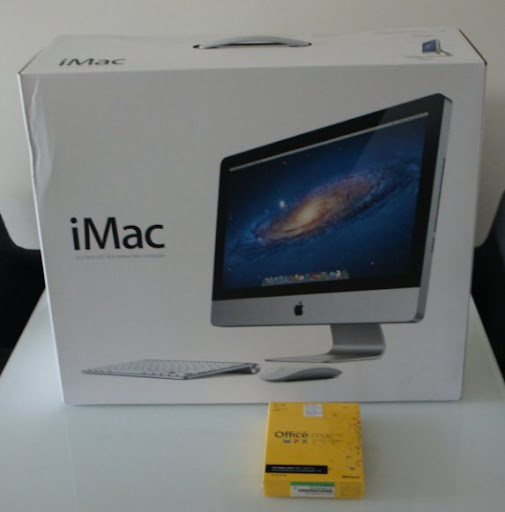 [Unbox] Apple iMac 21.5″開箱分享!