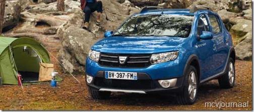 Dacia Sandero Stepway nieuw 04