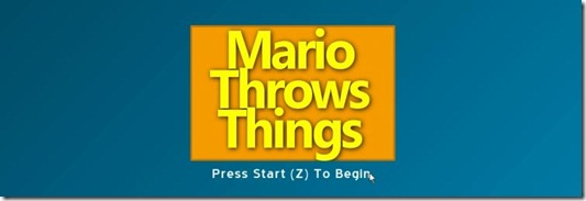 Mario Throws Things free indie game (2)