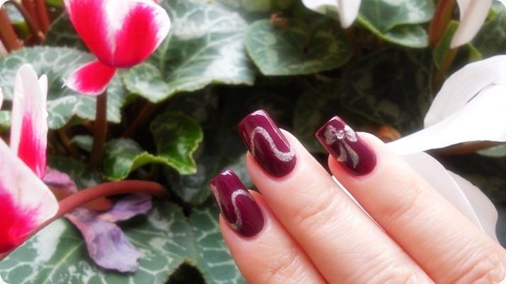 nailart - soffio di dea - soffiodidea - fiocco - nail art - 10a