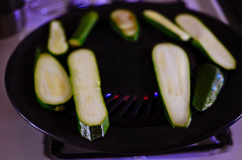 gluten free grilled zucchini with parsley-10955