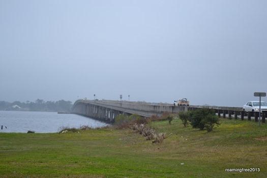 Crossing Perdido Bay -- from Florida to Alabama!