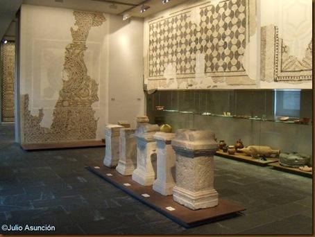 Aras romanas y mosaicos de Liédena - Museo de Navarra