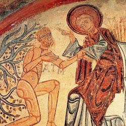 014 Sta Cruz de Maderuelo Creación de Adán.jpg