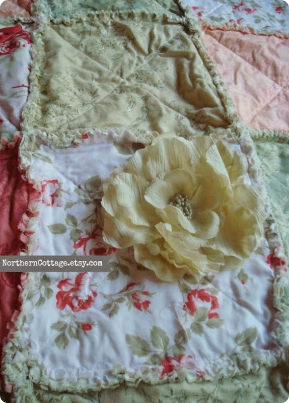 Romantic Cozy Quilt {NorthernCottage}