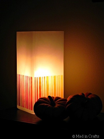 ombre lamp