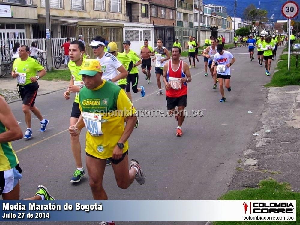 fotos media maratón de bogota 2014