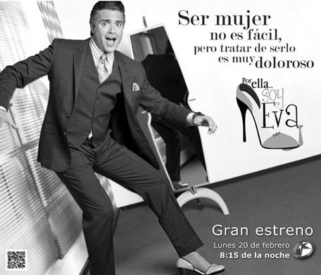 Jaime Camil con tacones