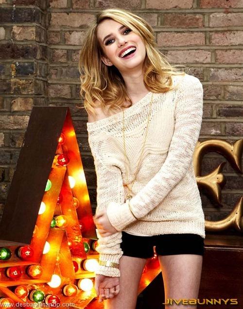 Emma Roberts linda sensual sexy sedutora desbaratinando (74)