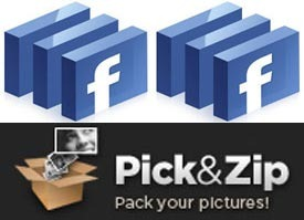Cara Download Foto Facebook dengan PickNZip