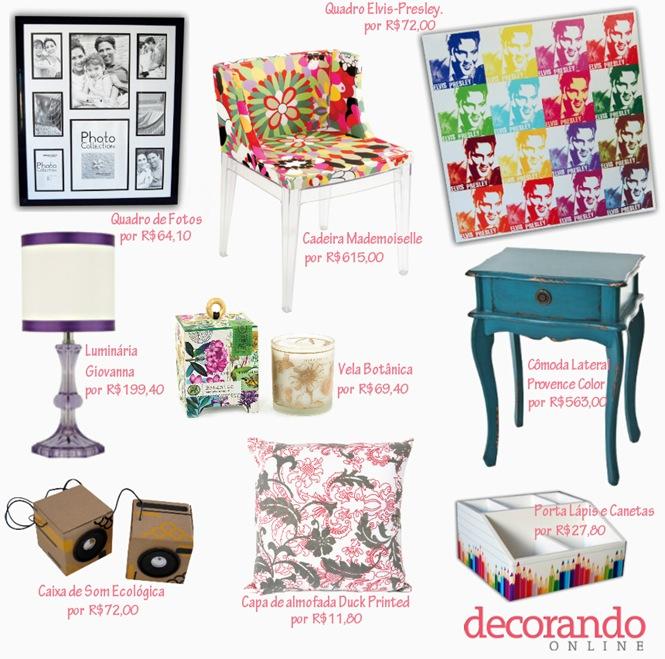 decorando online produtos casa