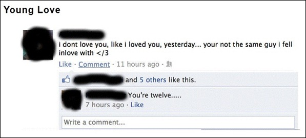The 7 Funniest Facebook Statuses 01