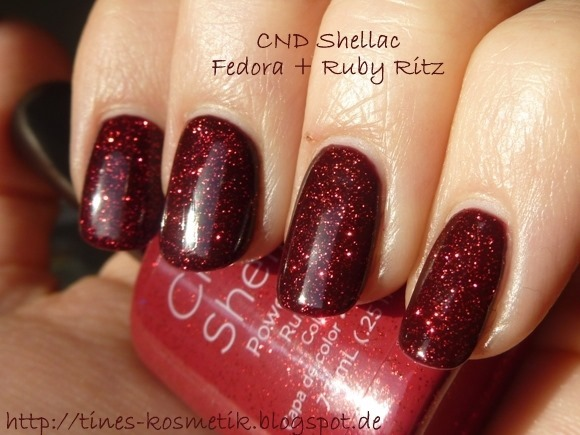 CND Shellac Fedora Ruby Ritz 2