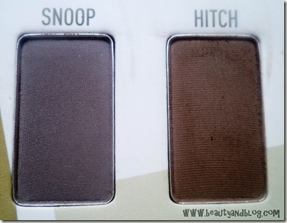 Sigma Beauty Bare Eye Palette Review Swatch Snoop Hitch Swatch