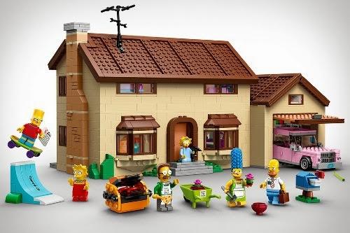 Lego simpsons 500