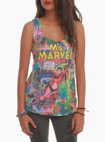 Ms. Marvel Her Universe Tank Top