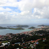 Looking Out Over The Crown Bay Harbor of Charlotte Amalie - St. Thomas, USVI