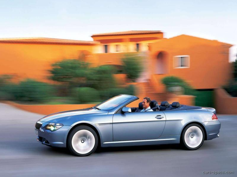 2004 bmw 6 series convertible specifications pictures prices. Black Bedroom Furniture Sets. Home Design Ideas