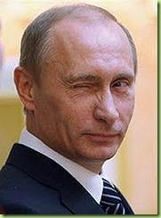 Putin winks