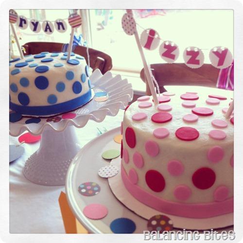 Balancing Bites-Polka Dot Cakes