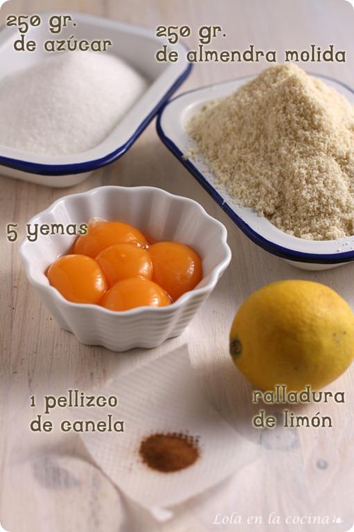 turron-de-yema-tostada-ingredientes