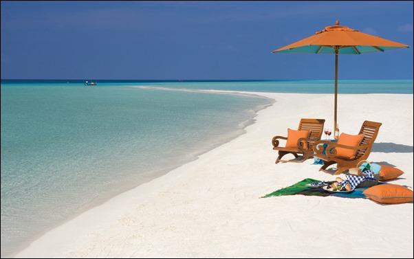 شواطئ المالديف
