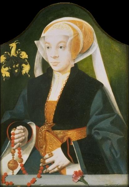 Bartholomeus Bruyn, Jeune femme au pomander