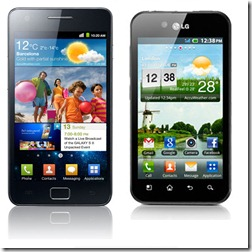 Samsung Galaxy S II And LG Optimus Black Differences