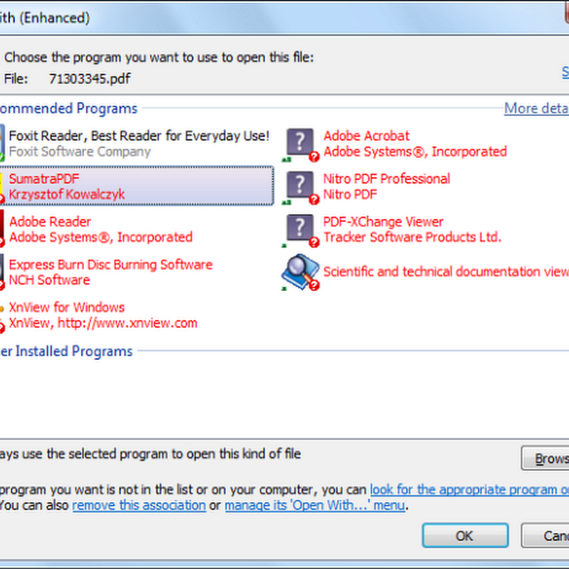 OpenWith Enhanced: A Better Open With Dialog Box for Windows