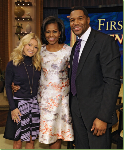 mo live with Kelly and Michael