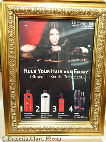 Priscilla Tresemme Keratin Treatment blogger 5