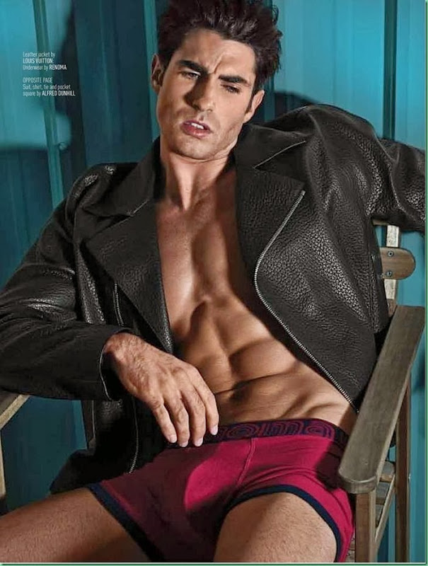 Onofre Contreras for AUGUST MAN MALAYSIA