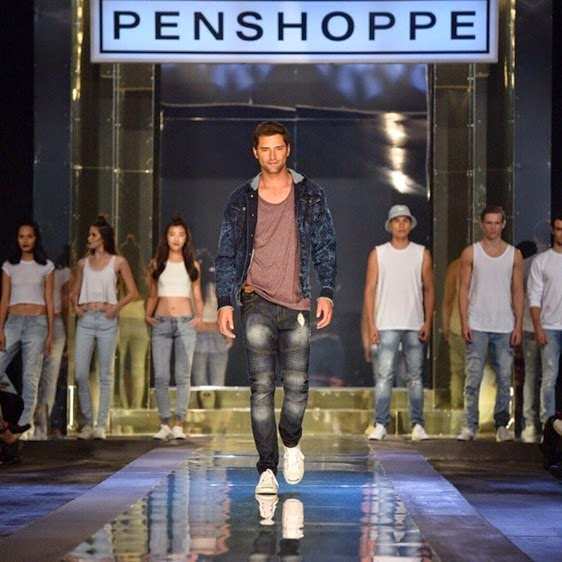 Sean O'Pry walks for Penshoppe