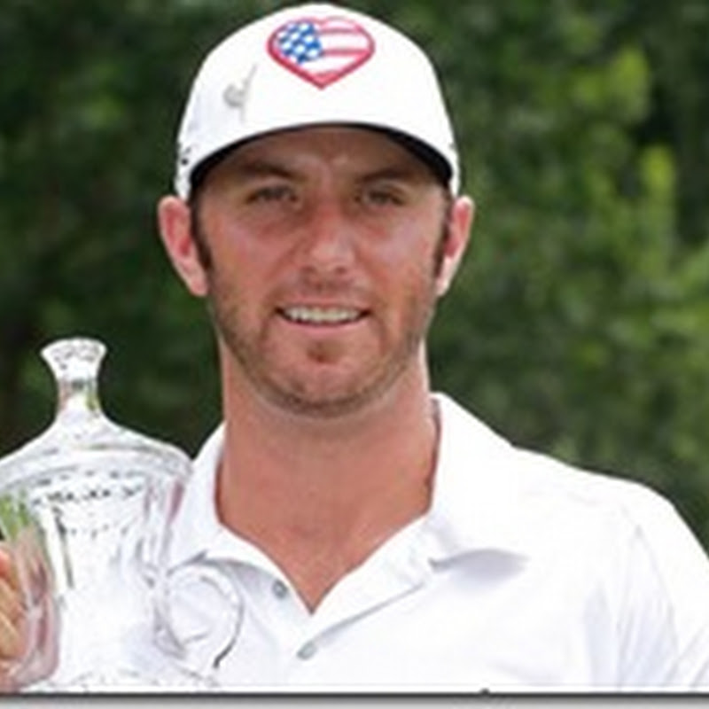 Dustin Johnson's Stars and Stripes TaylorMade Hat