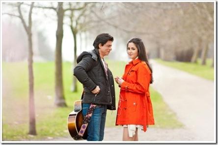 SRK Katrina Kaif romantic stills