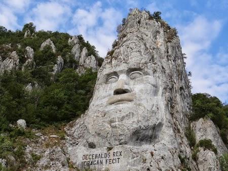 Statuia lui Decebal de pe Dunare