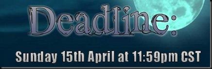 Deadline 15 Apr