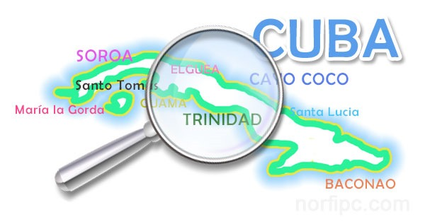 Guía turística de Cuba hecha por un cubano