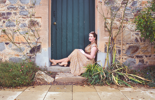 A complete 1940s look from head to toe | Lavender & Twill