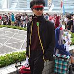Ikari Kenzo cosplay at Comiket 84 - Tokyo Big Sight in Japan in Tokyo, Tokyo, Japan